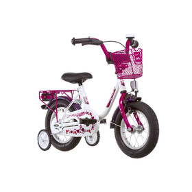 "Vermont Girly Childrens Bike 12"" pink/white"